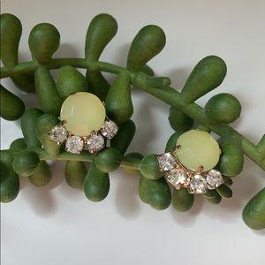 B.P. Nordstrom Lemon Lime Gem Stud Earrings
